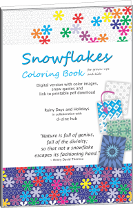 Snowflakes Coloring Book (for Grownups and Kids)
