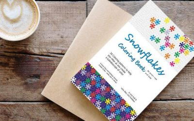 Introducing Snowflakes Coloring Book